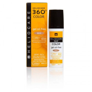 heliocare 360o color gel oil free beige 50ml